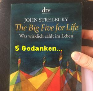 "5 Gedanken aus ""The Big Five for Life"" v. John Strelecky"