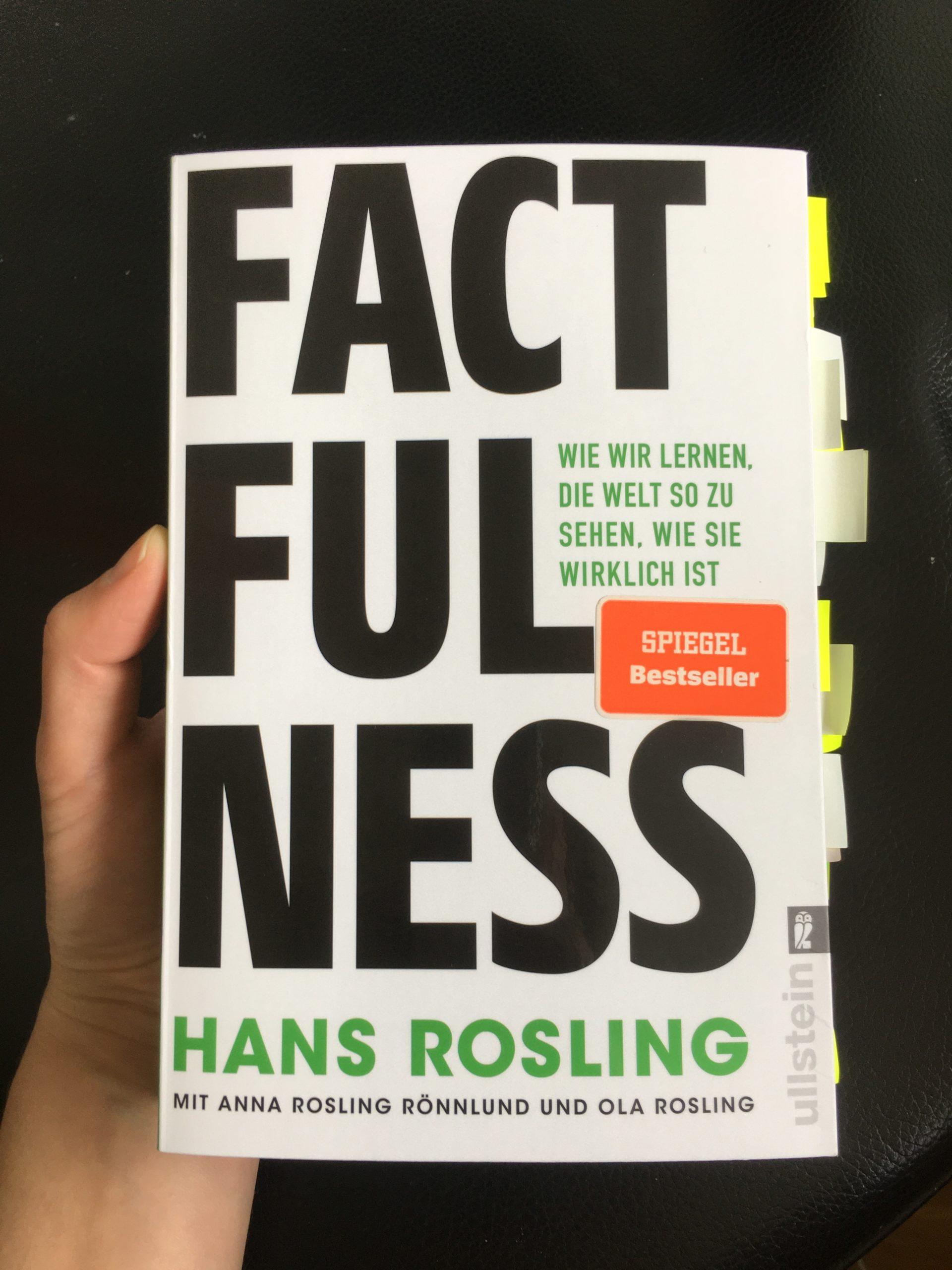 """5 Gedanken aus """"Factfulness"""" von Hans Rosling"""