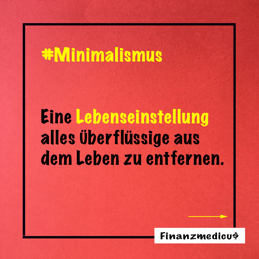 Minimalismus – fatal für die Konsumsucht
